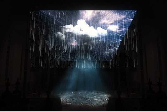 mơ thấy mưa đánh con gì