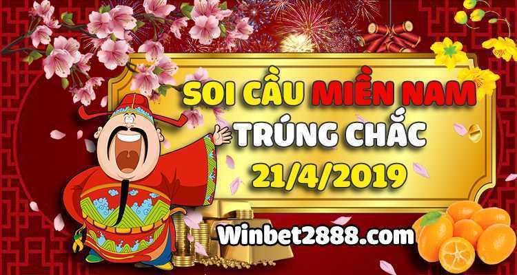 Soi Cầu XSMN Miền Nam Trúng Chắc 21/4/2019 – Dự Đoán XSMN 21-4-2019